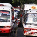 Suben tarifa de transporte urbano y metropolitano